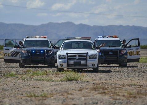 police, cruise, vehicle